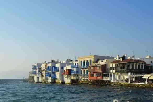 Todo lo que necesitas saber para viajar a Mykonos_Little Venice_Islas Griegas_Principales Islas Cicladas_Road Trip Grecia_ClickTrip