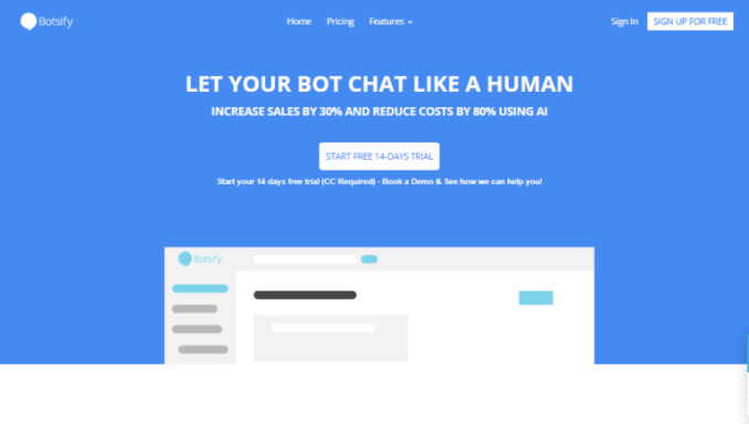 Top seven chatbot platforms and tools available Botsify stat