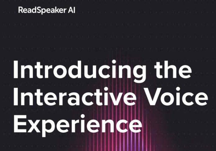Interactive Voice Experience