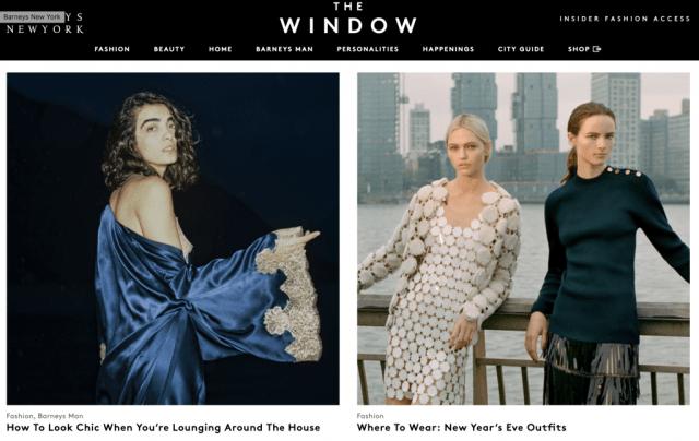 Barneys: The Window