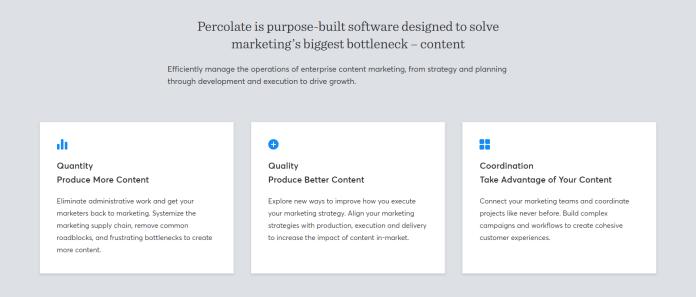 percolate enterprise content marketing platform
