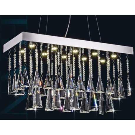 Lampadari masiero lizzi 3+3 lampadario classico con pendenti lampadario classico a 6 luci con pendenti in cristallo verniciato. Clicson Com Lampadario A Sospensione 50w Con Pendenti In Cristallo