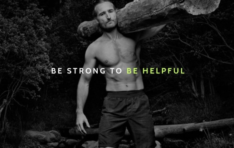 Be strong to be helpful