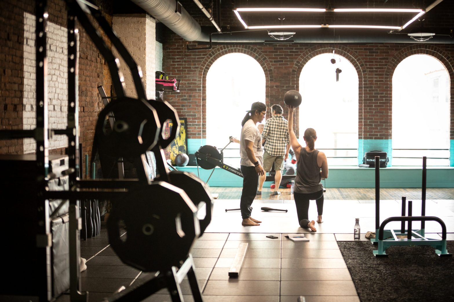 The perfect gym.