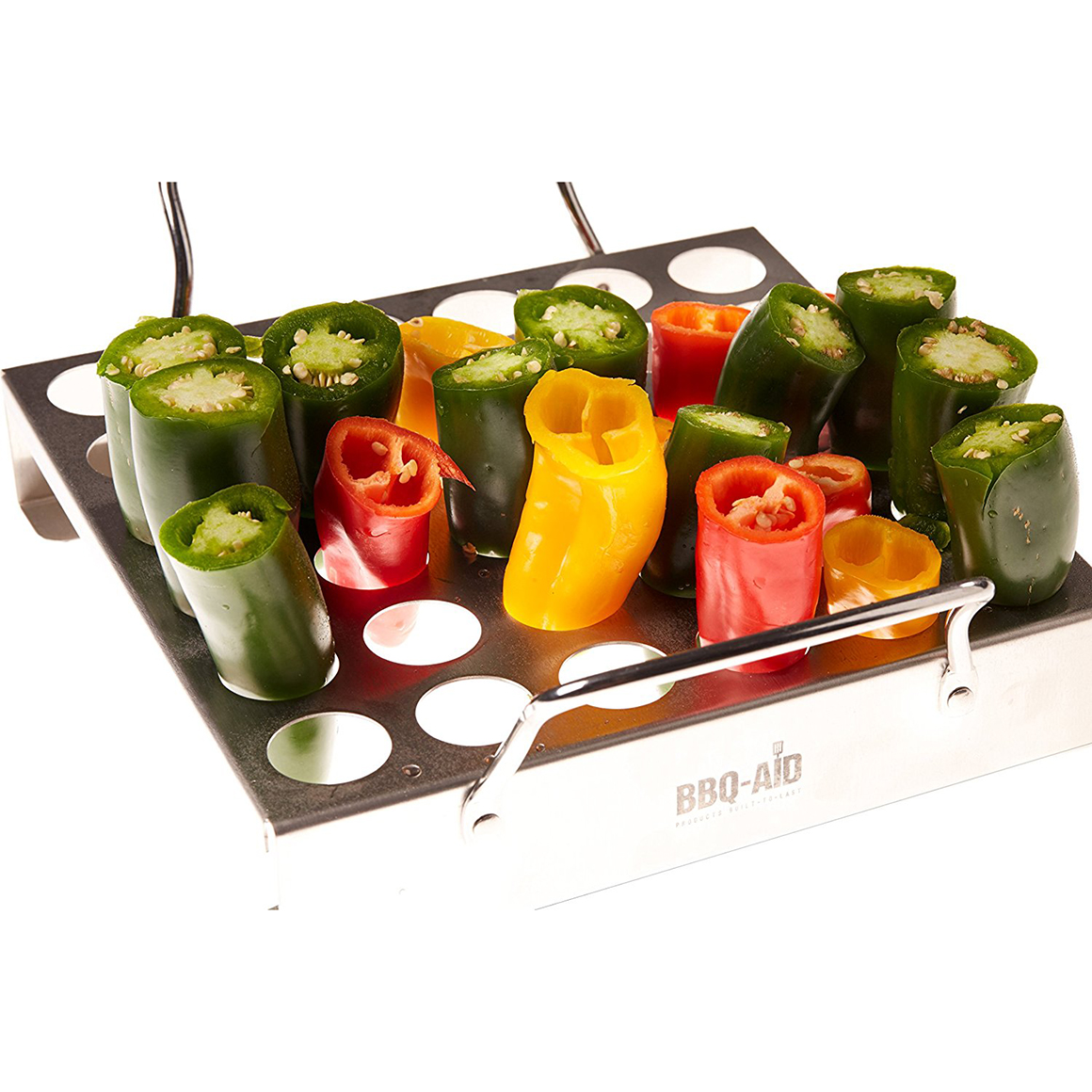 jalapeno grill rack for your barbecue or oven bbq aid