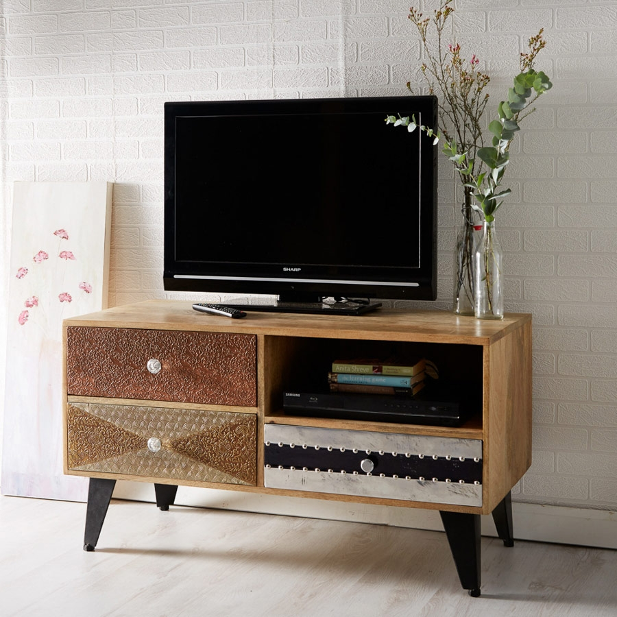 contempo small tv cabinet fully assembled
