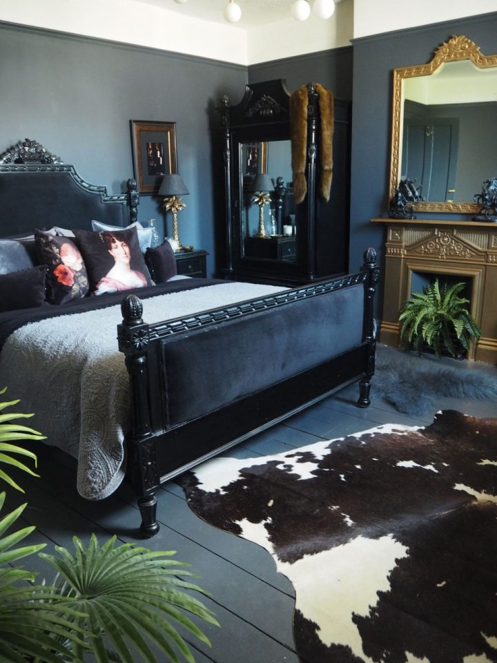 dark gothic bedroom furniture and makeover