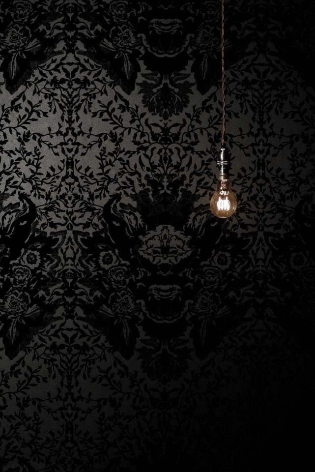 dark gothic wallpaper decor