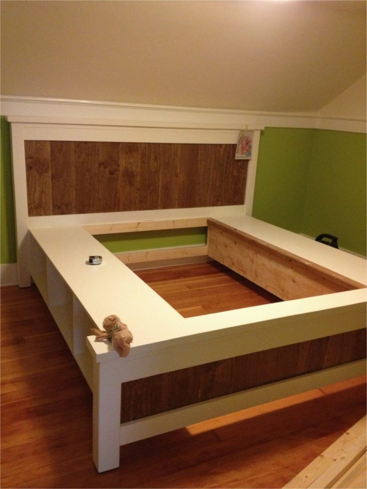 diy storage bed plans