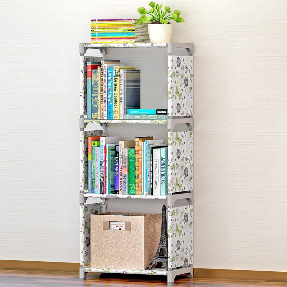 Folding Book Shelf Stand For Kids Room