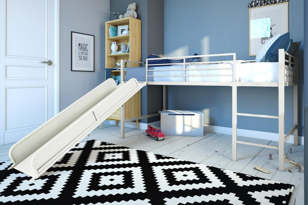 junior loft with slide