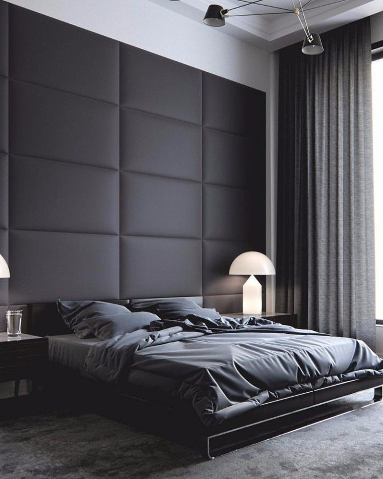 modern black bedroom ideas