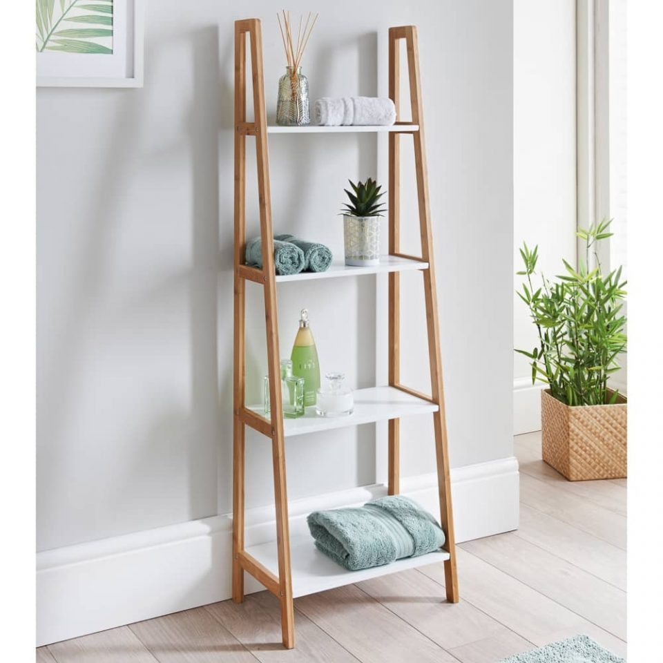 Retreat 4 Tier Ladder Shelf