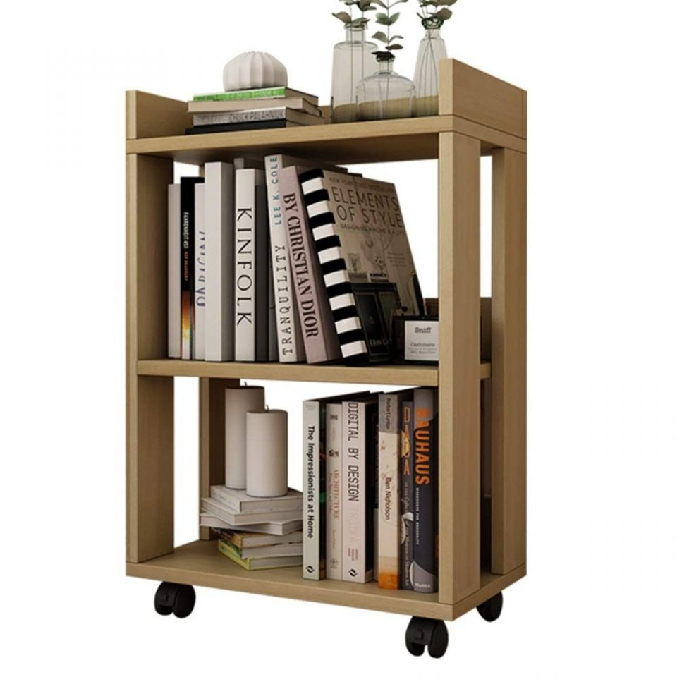 Solid Wooden Bookshelf