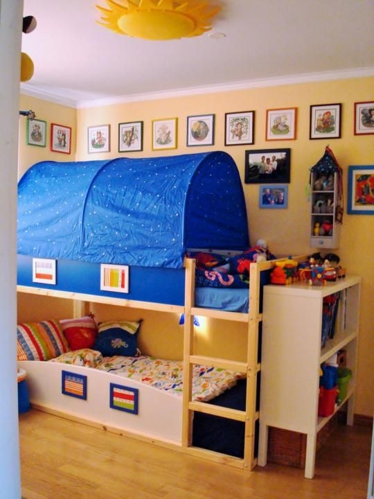 toddler bunk beds small