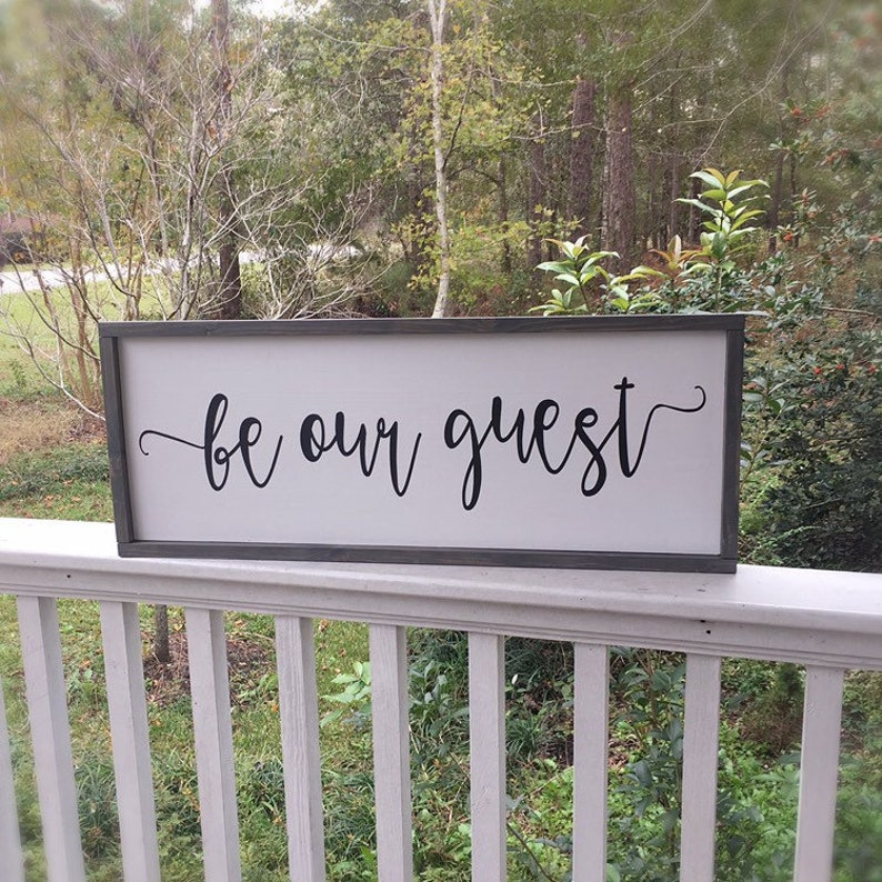 be our guest sign guest bedroom wall decor guest room sign