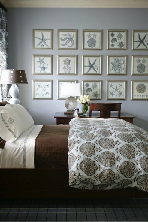 blue and brown bedrooms design ideas