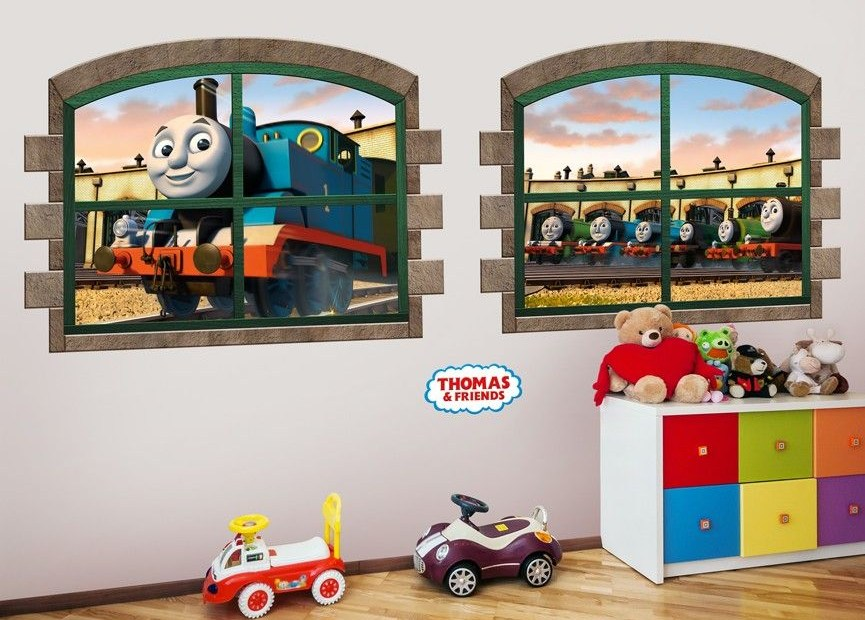 hang out at the train station with thomas and friends with