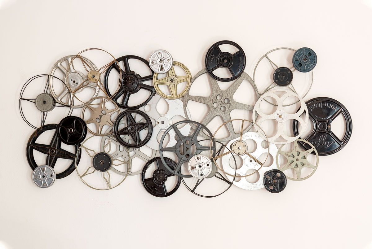 how to make wall art from vintage film reels todays nest