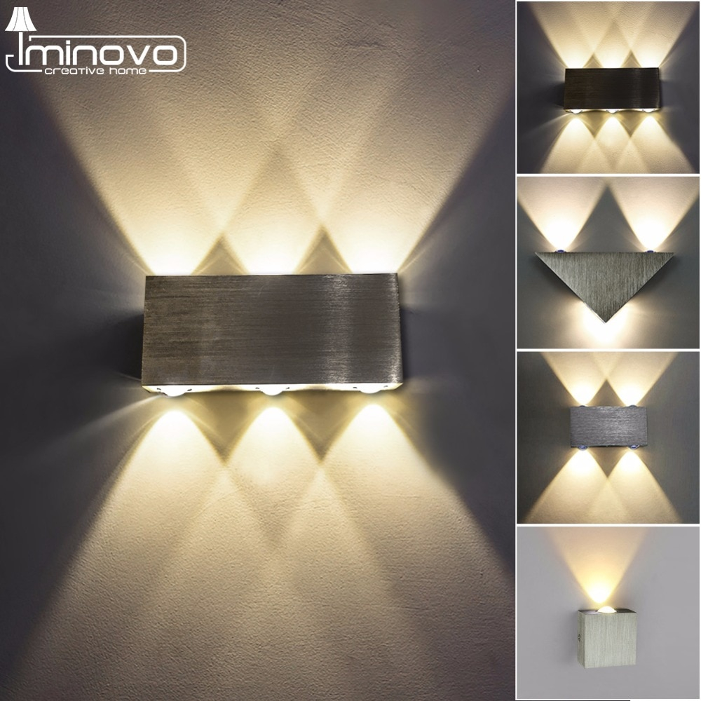 modern led wall lamp 3w 6w wall sconces indoor stair light