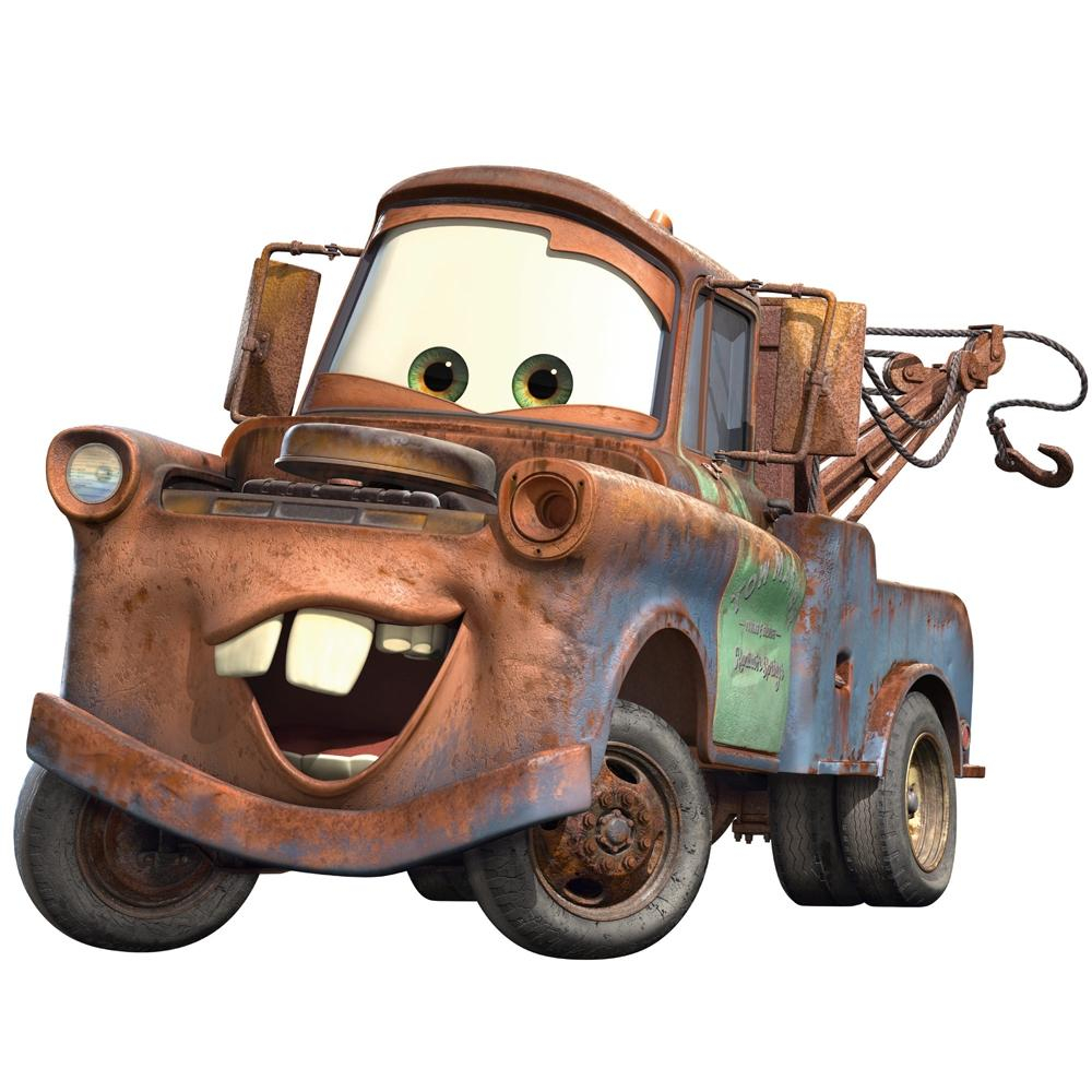 new giant mater wall decals disney cars tow truck bedroom