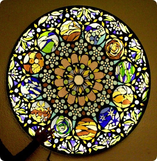 stained glass mosaic wall art knockoffdecor