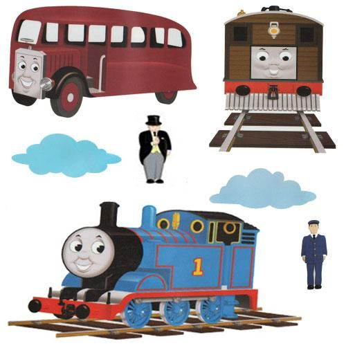 thomas the train wall stickers wall appliques wall