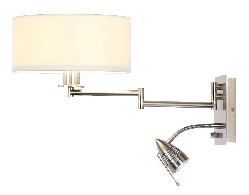 wall mounted bedroom reading lamps mounted lamp swing arm