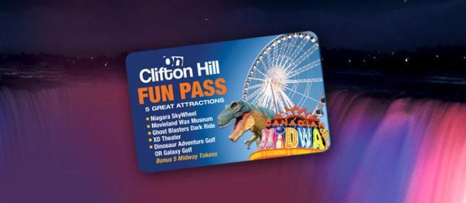 Victoria Day weekend 2013 Clifton Hill Fun Pass