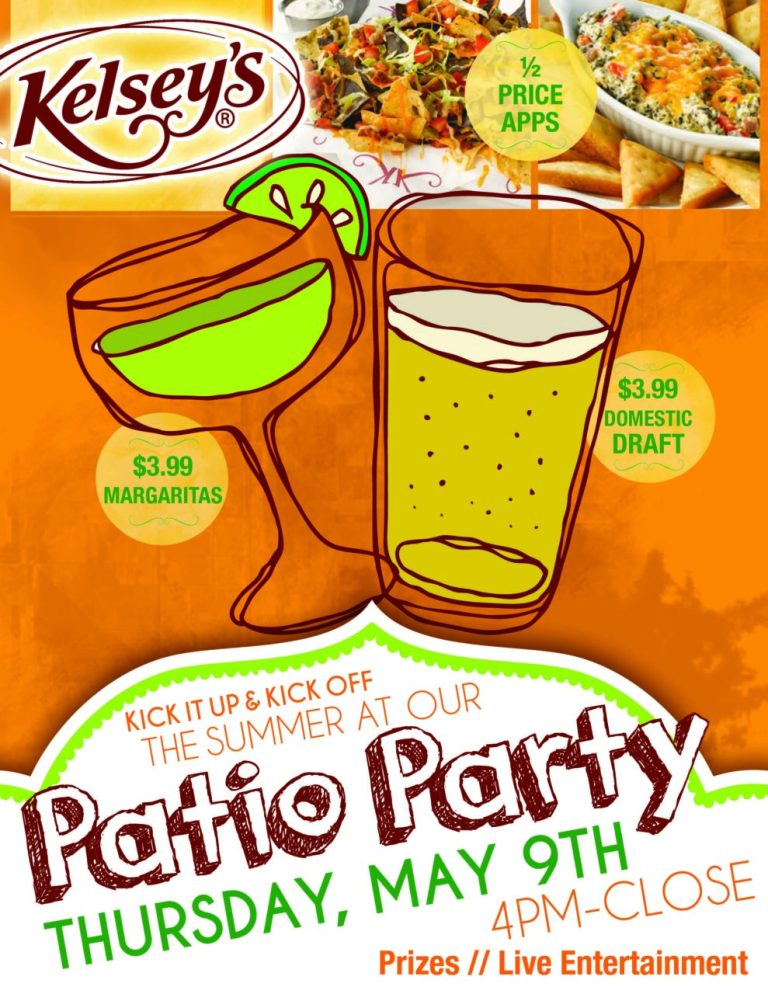 Kelseys Patio Party