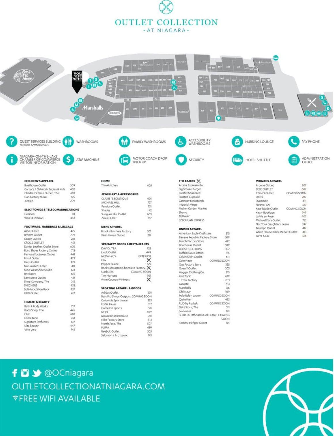OCON Store Directory