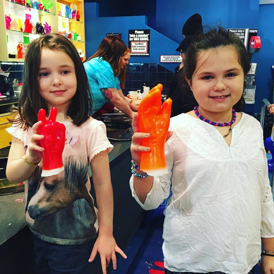 Interactive attractions and activities for kids