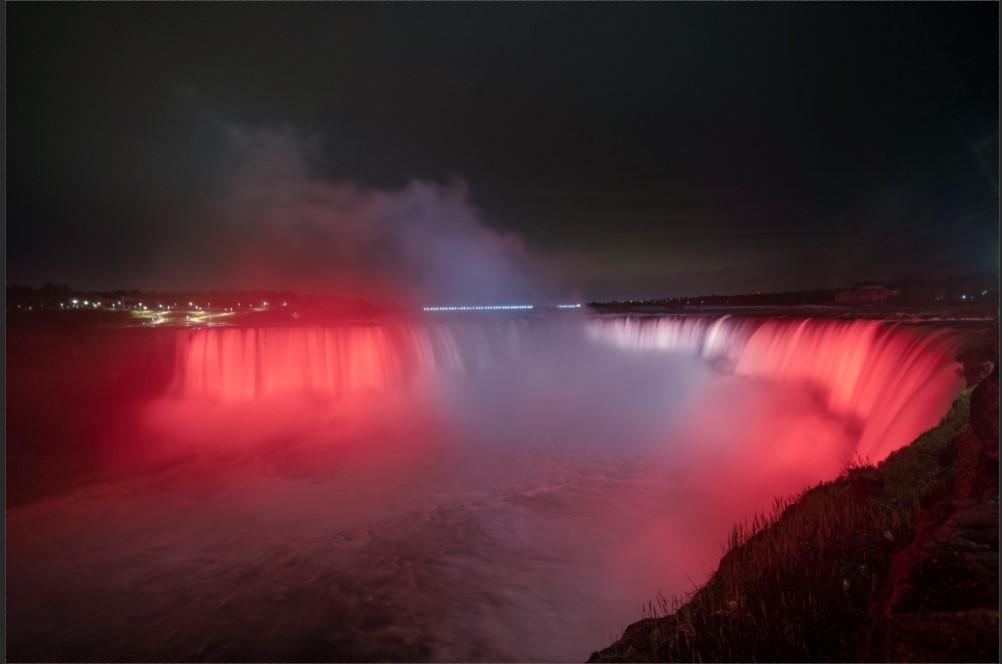 Niagara Falls Canada Day Illumination