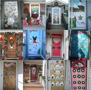 Clifton Recreation Department Holiday Door Decorating Contest