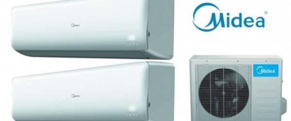 climatiseur midea entreprise gamme