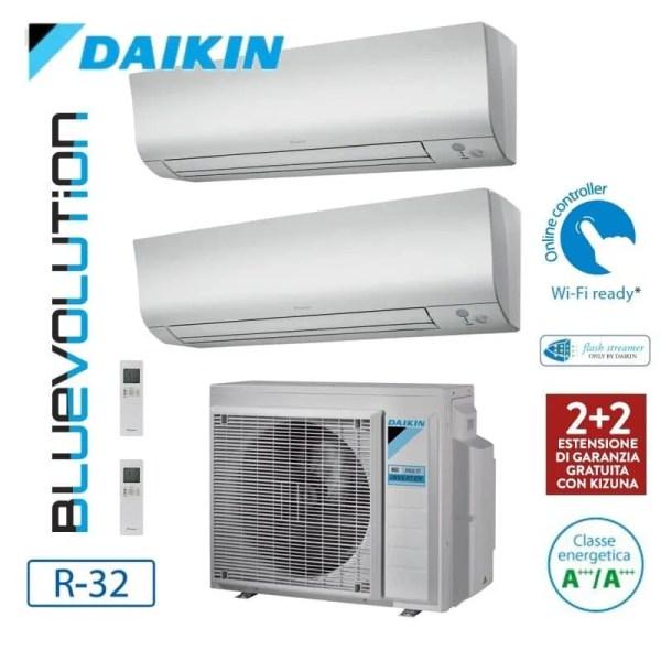 Climatizzatore/Condizionatore Daikin Multisplit Parete 2MXM50M + FTXM35M+FTXM35M 2