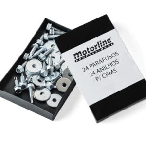 Caja 24 tornillos cremallera nylon MCP24