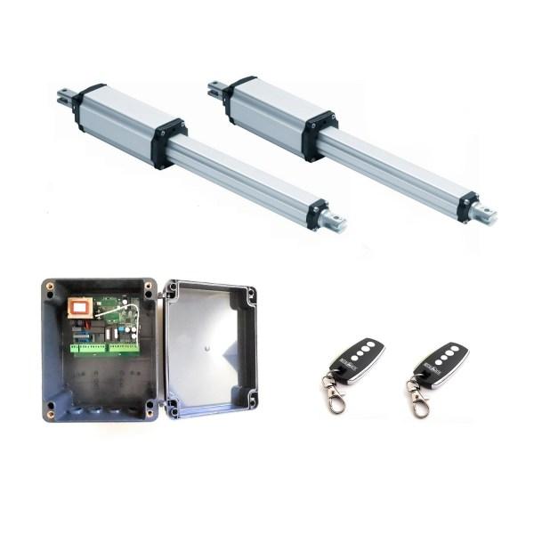 Kit VDS PM 400 motor electromecanico doble cancela batiente