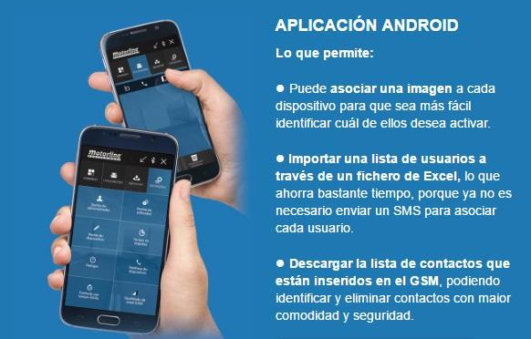 Motorline M175 Módulo GSM/Bluetooth abrir puerta garaje con el móvil