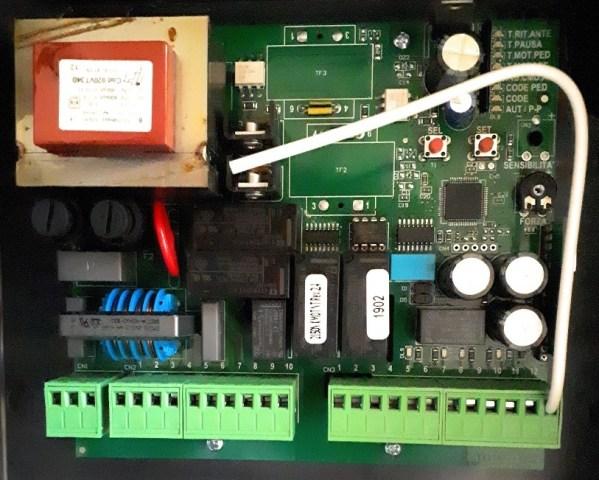 Kit VDS PM 600 motor electromecánico cancela batiente