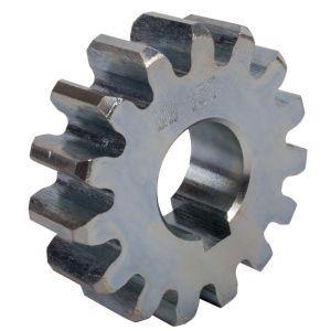 Piñón engranaje zincado motor corredera Z16 M4