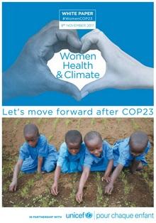 White paper women health climate