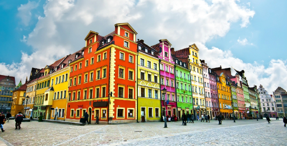 6 Colourful Buildings From Around The World The Chromologist