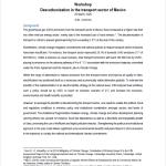 Mexico Workshop 2020 Description and agenda