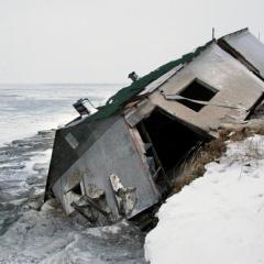Dall'Isola di Saricef in Alaska, i primi rifugiati climatici USA. Ma sarà davvero così?