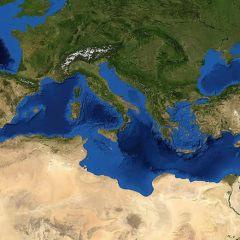 Variazioni di livello nel Mediterraneo negli anni '80