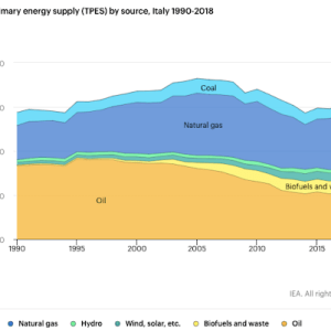 Italy Remains Dependent on Fossil Fuel Imports While the Use of Renewables Grows Slowly