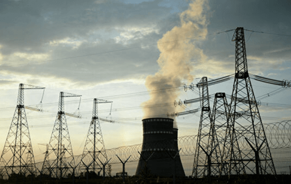 The Majority of Russia's Electric Supply Comes from Natural Gas