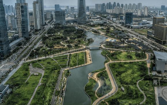 Incheon: the eco-friendly city of the future in Republic of Korea