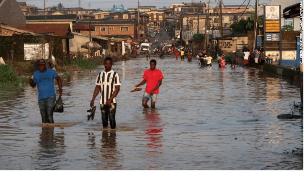 Flooding in Nigeria Has Paralyzed Economic Activity in Several States and Lagos